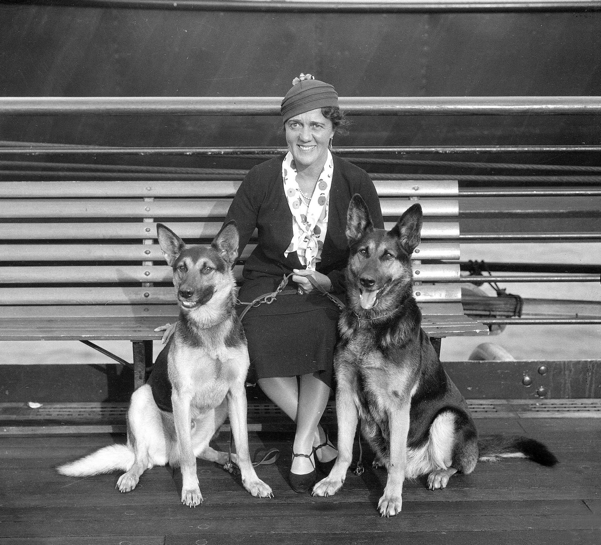 This woman brought guide dogs to America, and aid to thousands of blind people