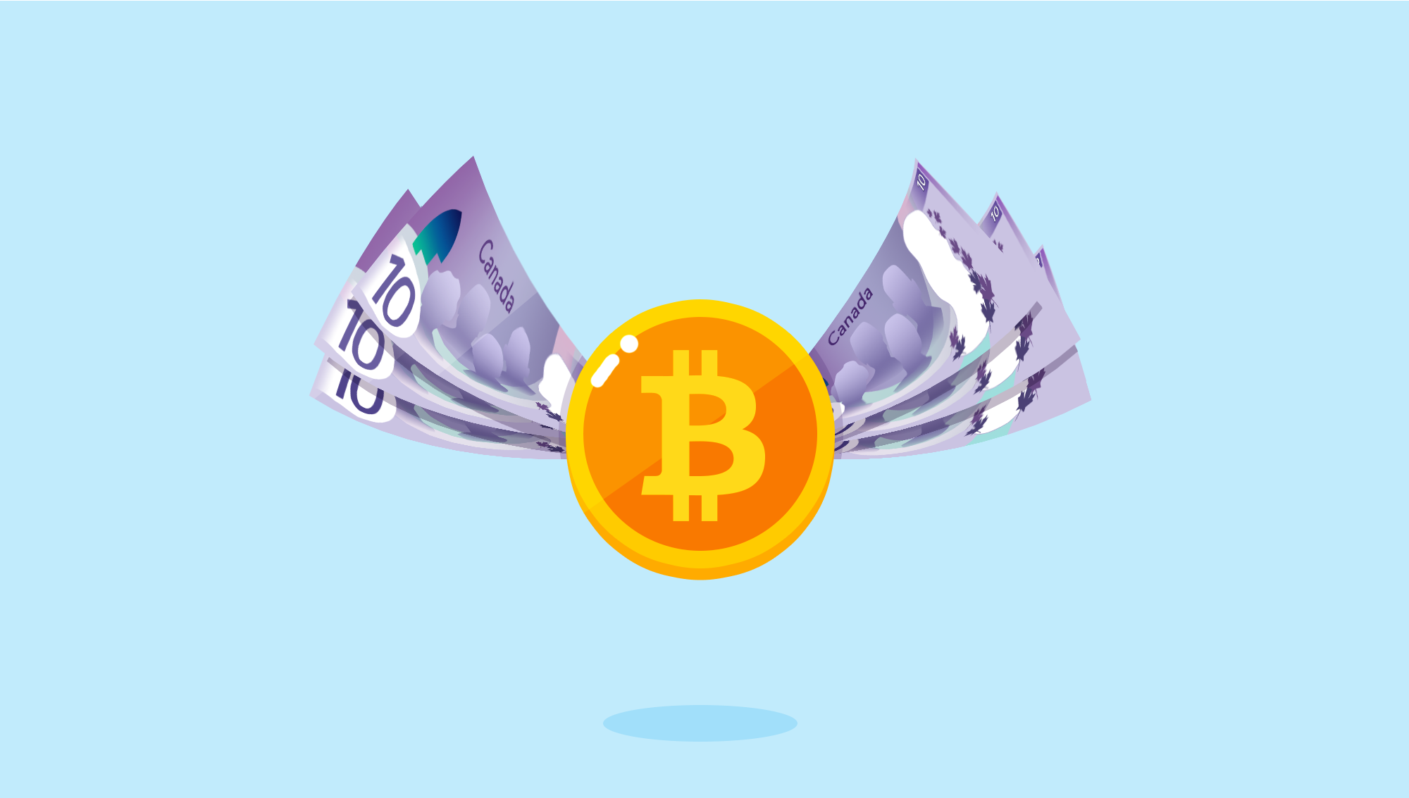 How to buy bitcoin in canada complex made simple medium bitcoin can be bought similarly to how canadian currency is traded for any other currency but with much lower fees and much less people required ccuart Images