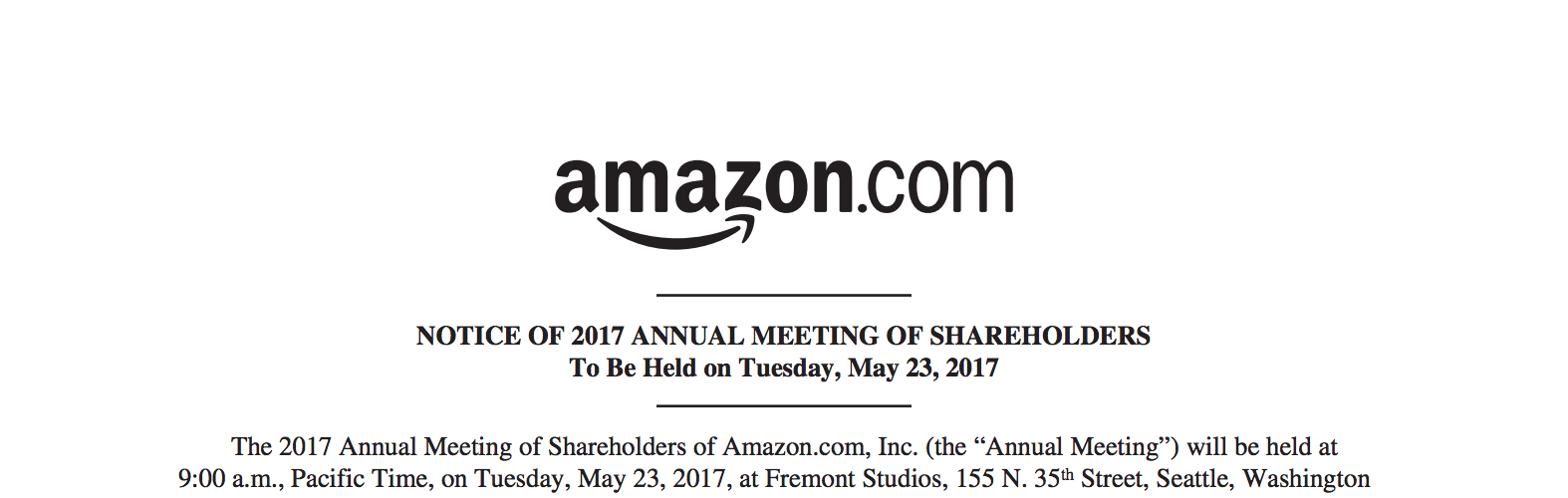 Lessons From Amazon S Shareholder Letters Hacker Noon