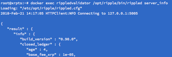 Looks like (in the example above) we are now running 0.90.0 :)