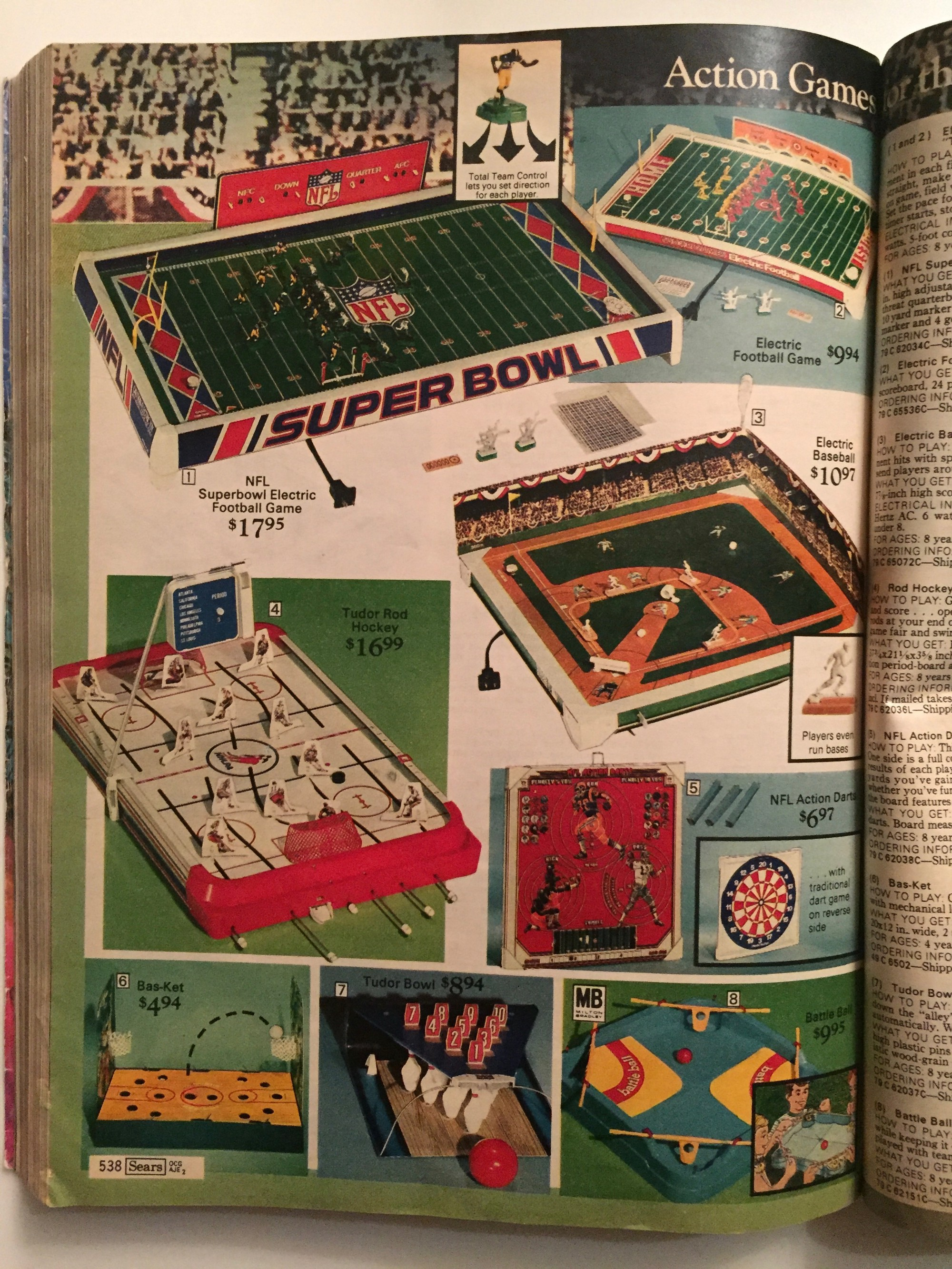 The Sears Wish Book 1977 Greg Maletic Medium Jeep Sound Bar Wiring Diagram Colors Line Up Your Plastic Players In Formation Plug It And Watch Them Individually Vibrate Their Way To A Completely Random Spot On Board