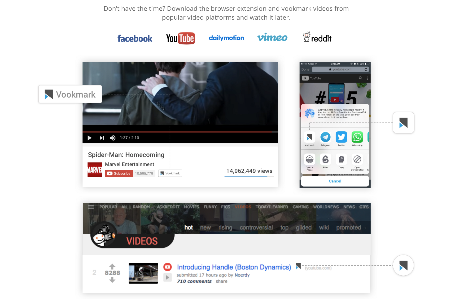 Why we made vookmark easy video bookmarking ux in india medium all recently bookmarked videos will show up in your devices in the new section you can revisit videos again in the watched section or even mark videos as ccuart Images