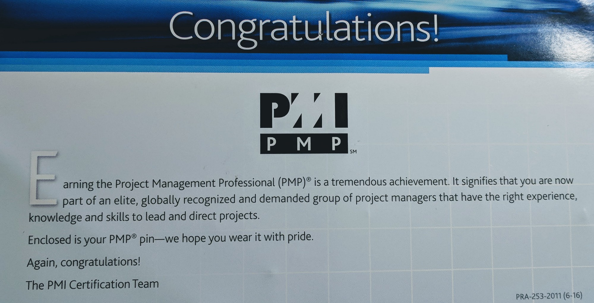 How To Prepare To Get The Pmp Certification Product Management