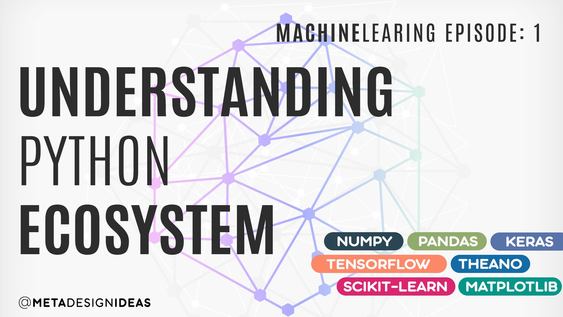 exploring python ecosystem for machine learning  things you should know