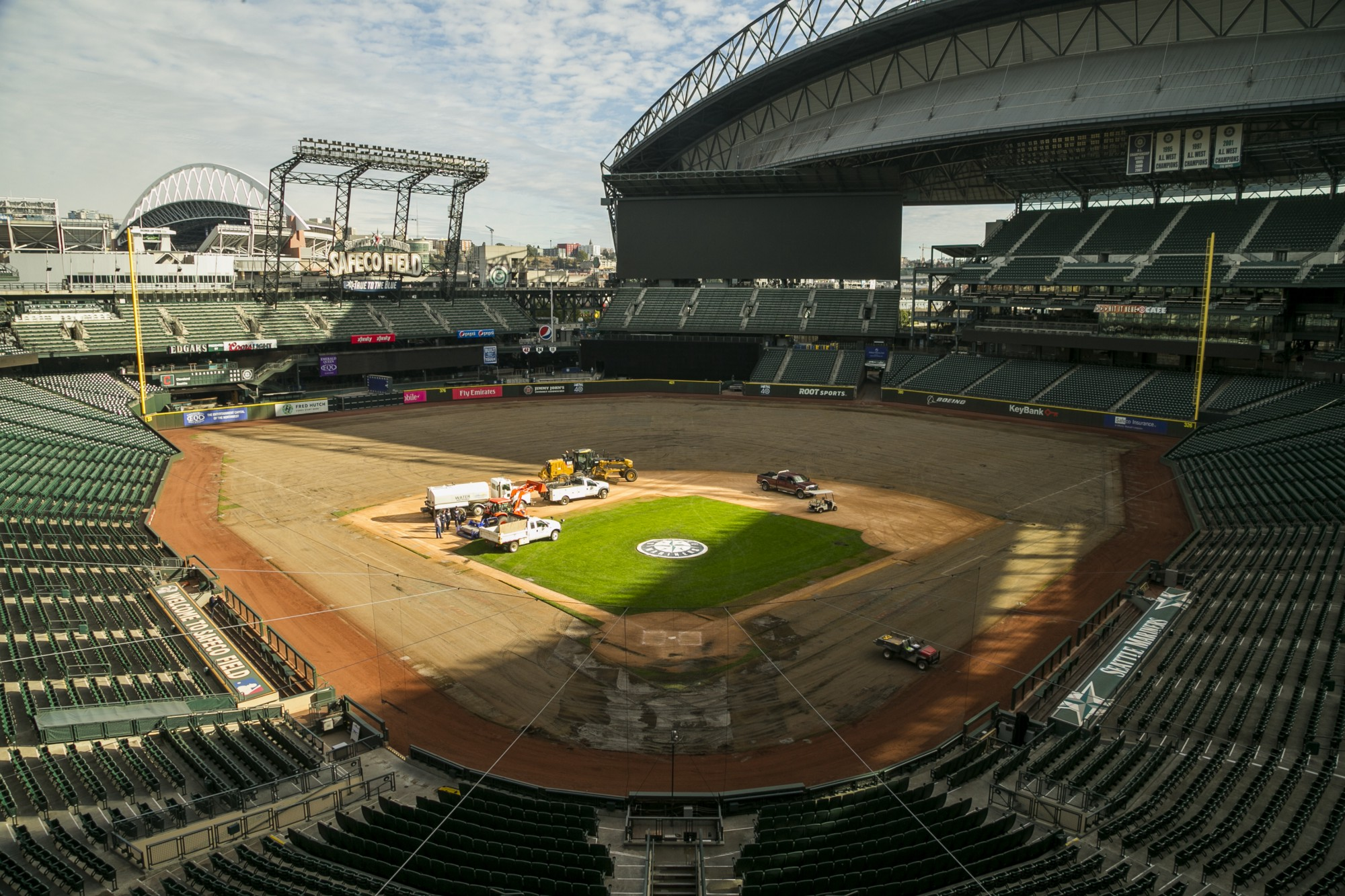Safeco Field From the Corner of Edgar Dave