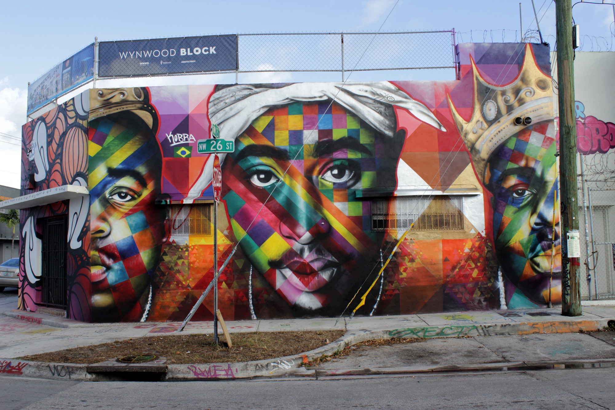 Exterior Wall Mural Tupac Tribute Murals And Graffiti From Around The World