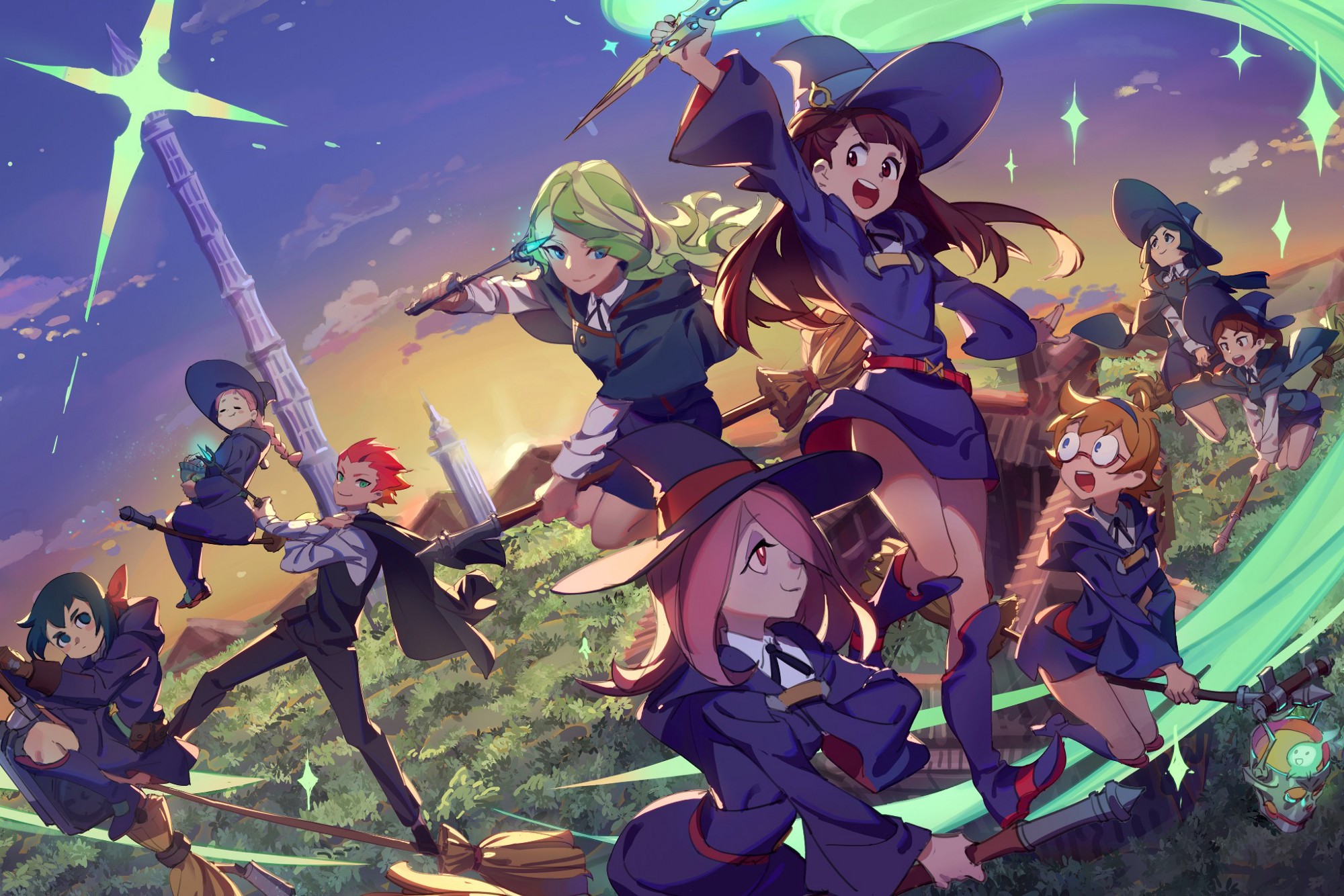 Review — Little Witch Academia: Chamber of Time - Tasta