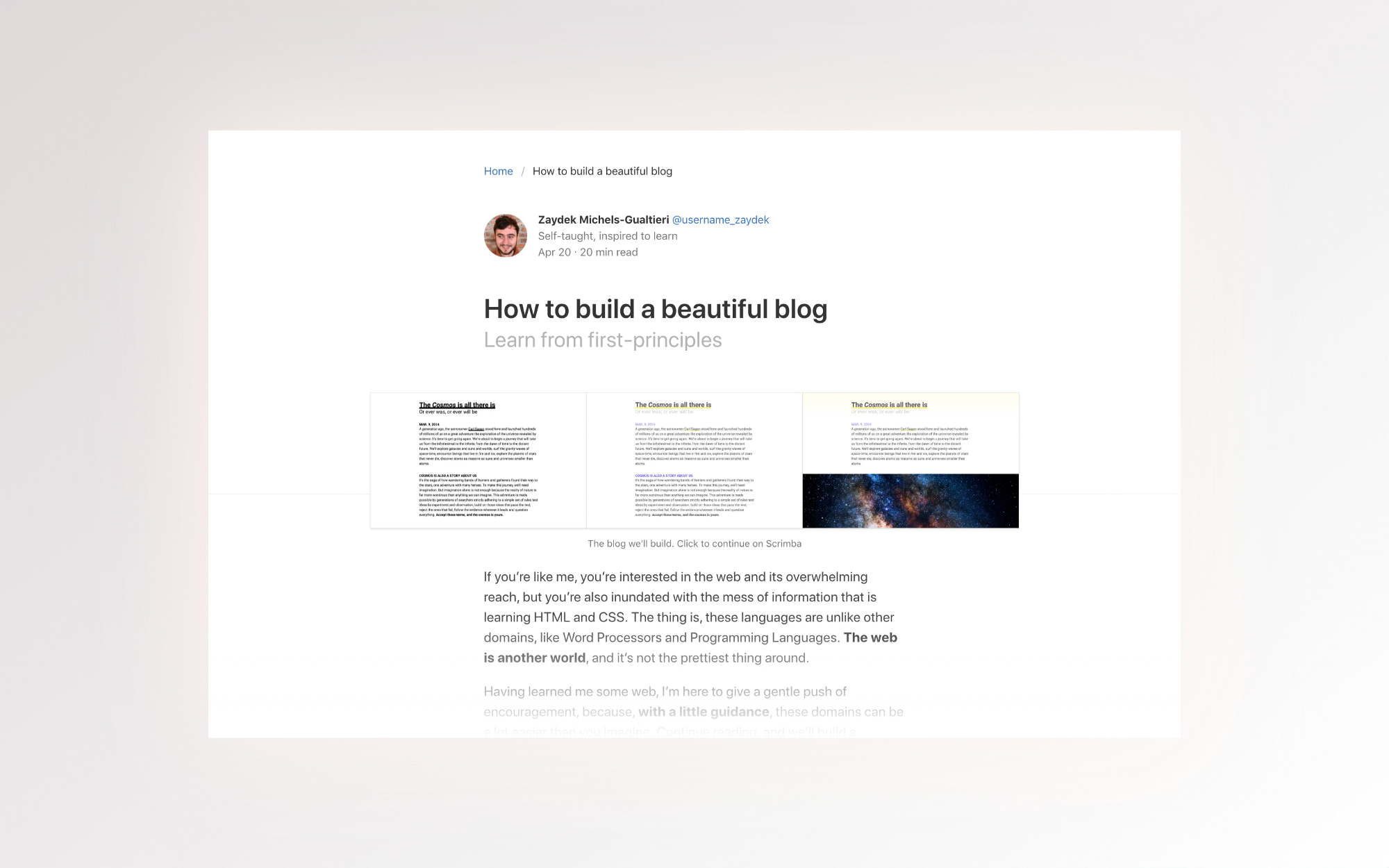 How To Build A Responsive Blog Design With Bulma Css