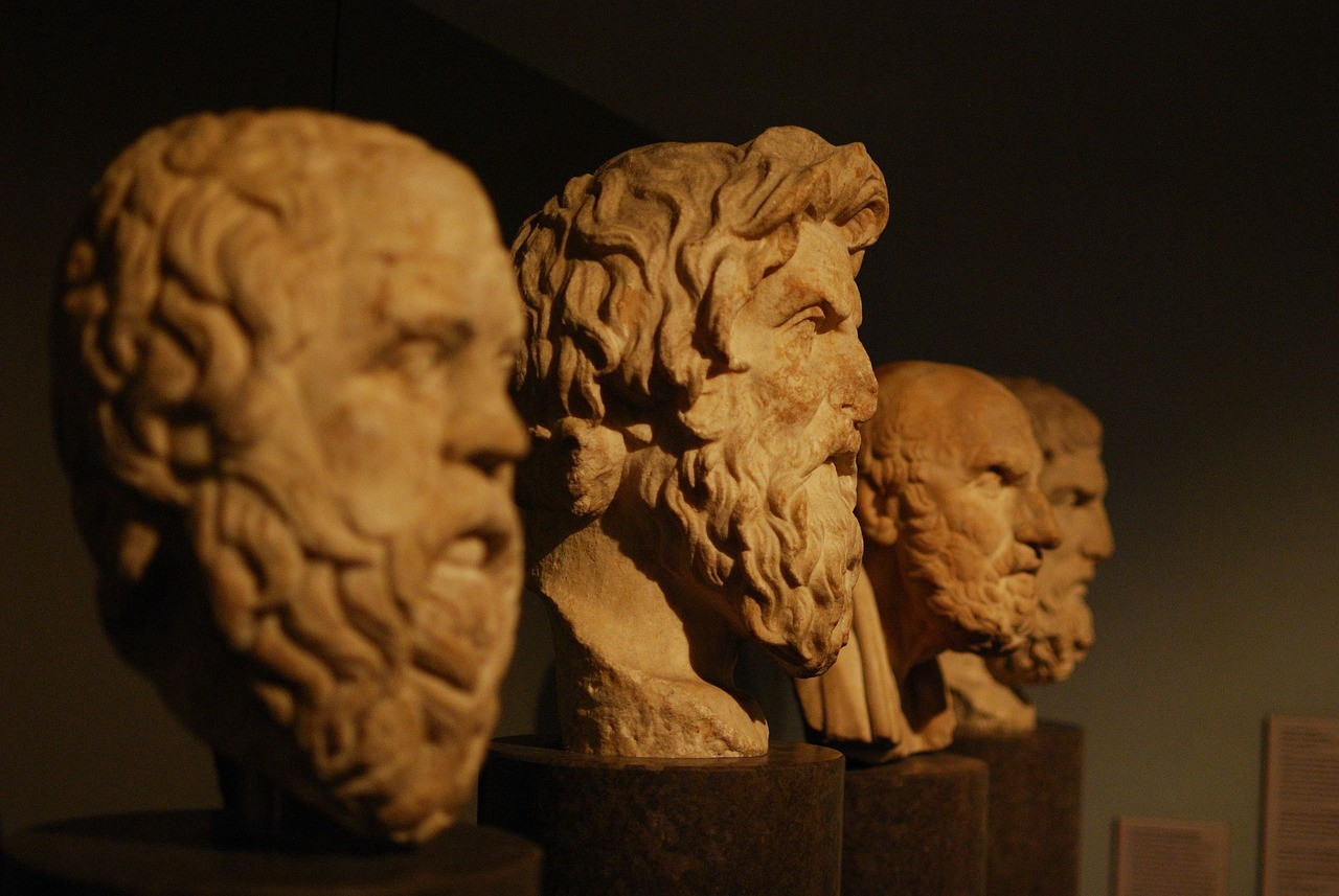 plato and epicurus' views on the Although our main witness for epicurus' views on the evolution of human society epicurus does not entertain the thought experiment proposed by plato in the.