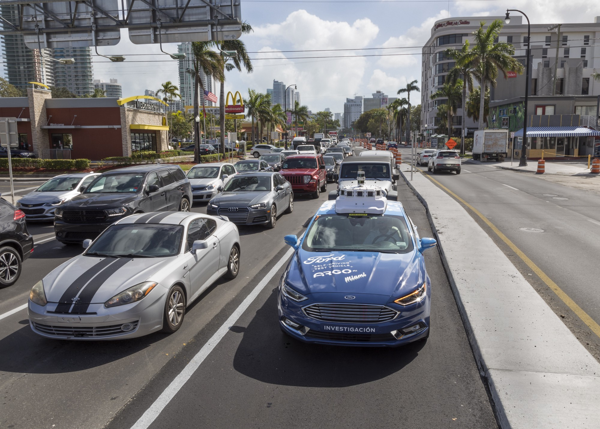 Ford Now Testing Autonomous Vehicle Fleet In Miami