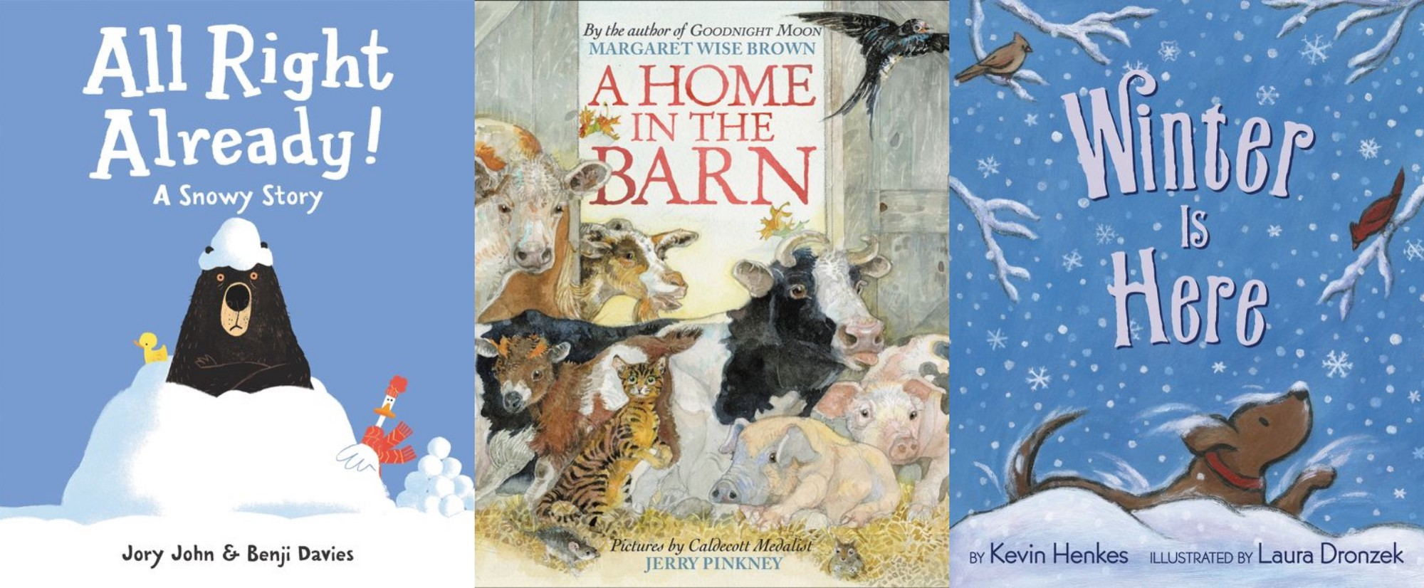 The winter season is right around the corner, so it's time to snuggle up  with your little readers and enjoy a cozy bedtime story!