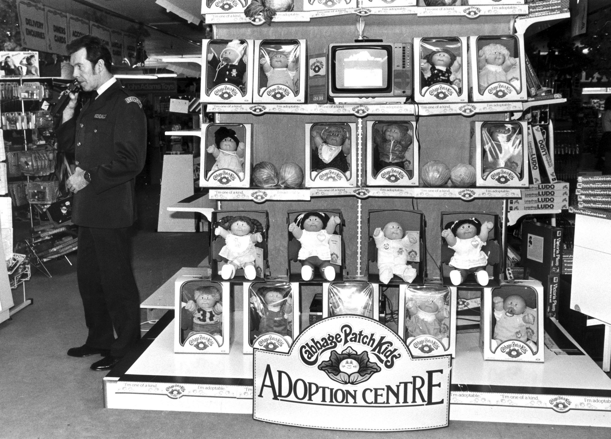 The weird rabid history of the cabbage patch craze security was tight at this adoption center in manchester england in 1983 the cabbage patch craze had already caused riots in america getty images yadclub Choice Image