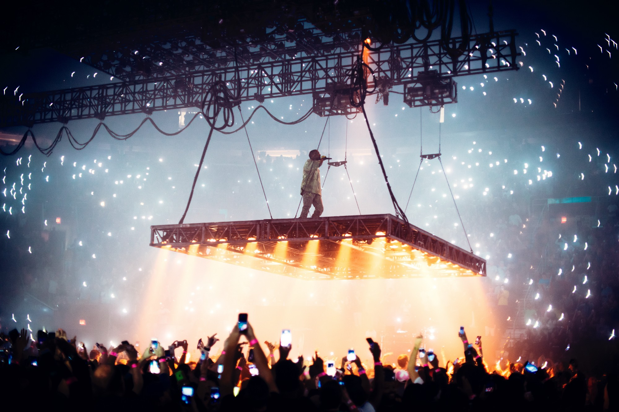 Relive The Magic Of Kanyes Saint Pablo Tour With A One Kind Photo Book