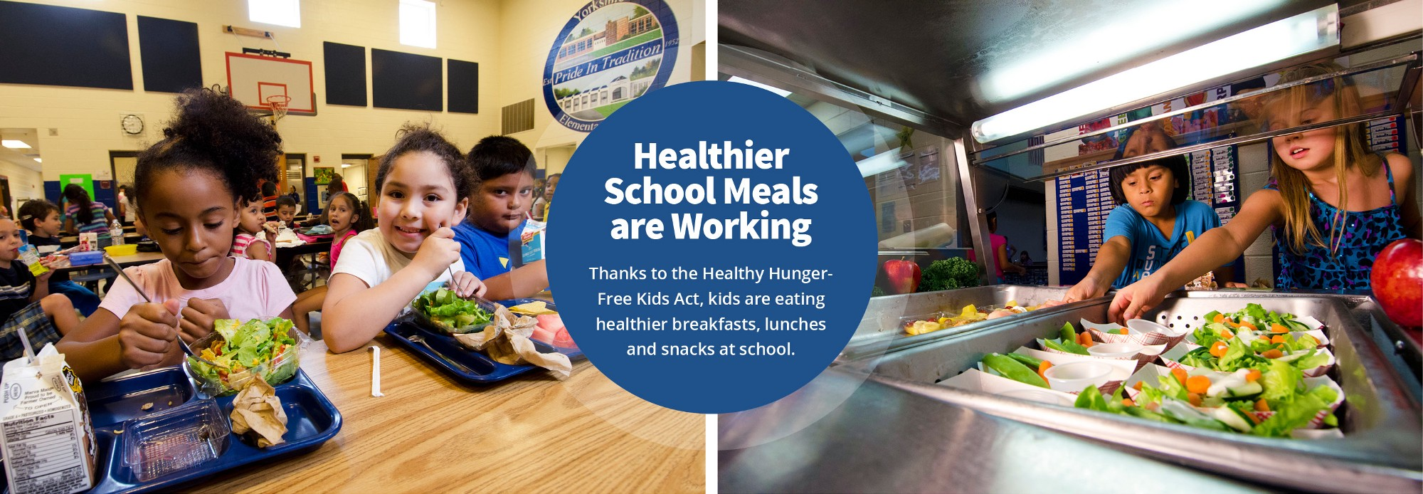 healthy meals for children act The study inspired the passage of the healthy, hunger-free kids act, which set new nutrition standards, even for schools that don't provide free lunches the law limits calories and mandates.