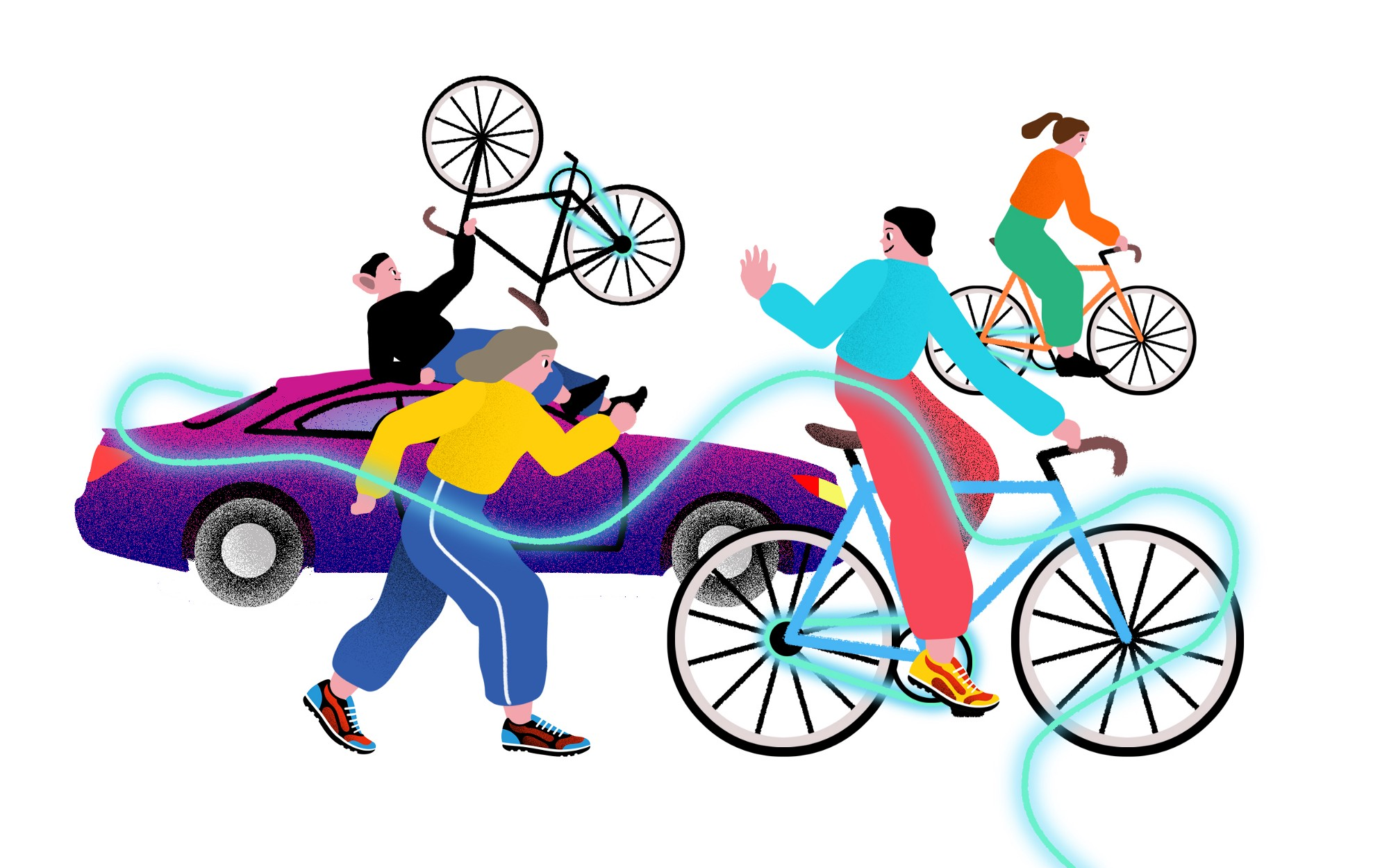 can blockchain and lpwan fix the problems of bike sharing rh medium com Coloring Clip Art Working Out Clip Art