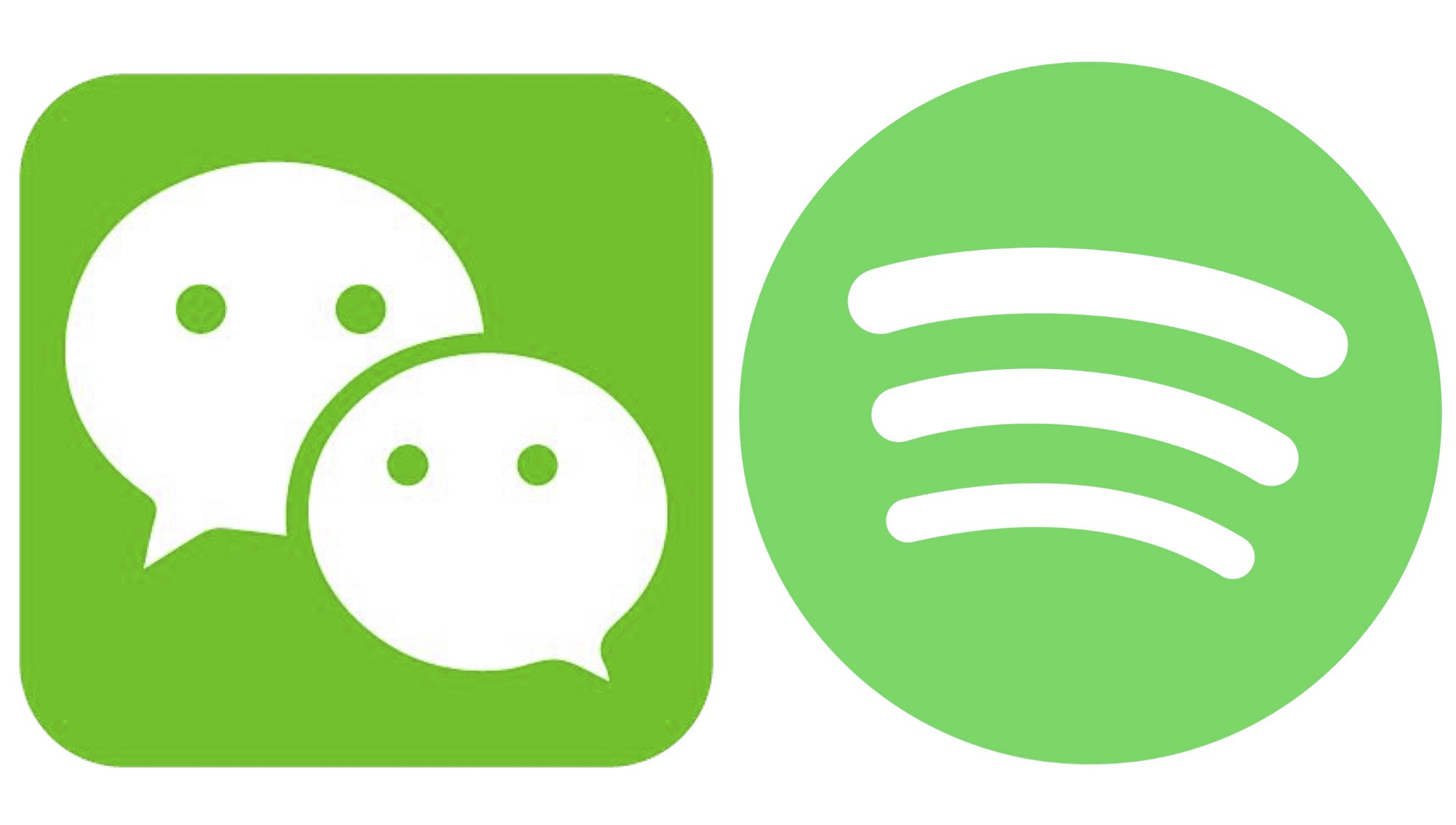 does spotify fit the wechat template cherie hu medium