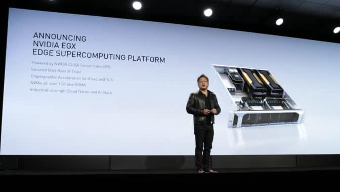 Jensen Huang (NVIDIA CEO), loves Edge AI almost as much as his leather jacket.
