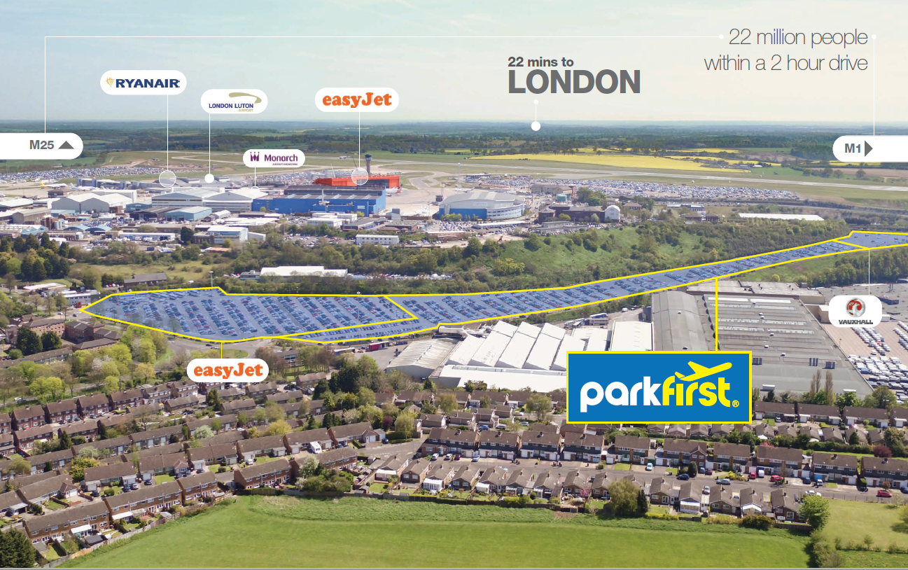 New 2,000 Parking Space Investment at Luton Airport