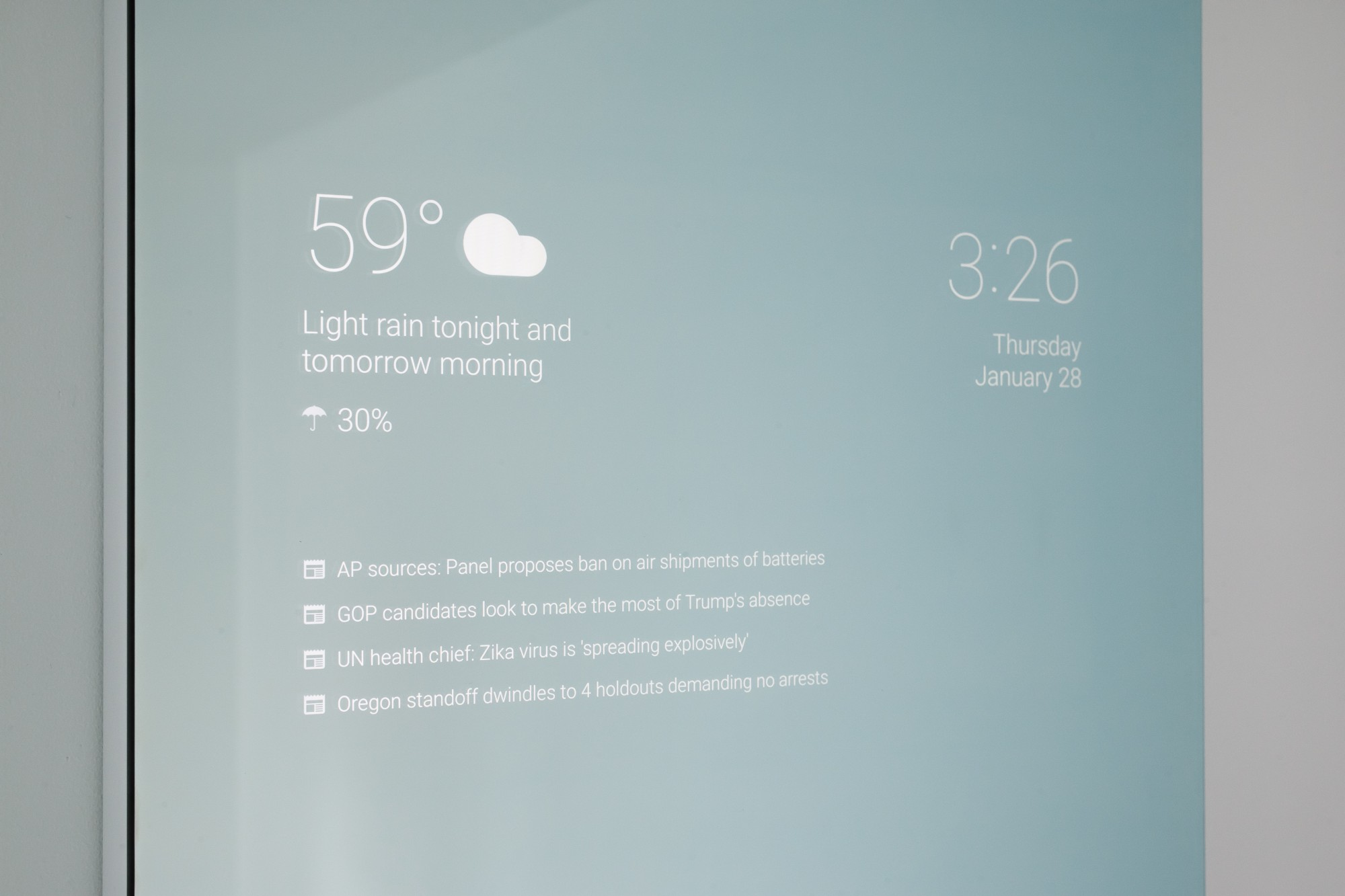 Image result for smart mirror