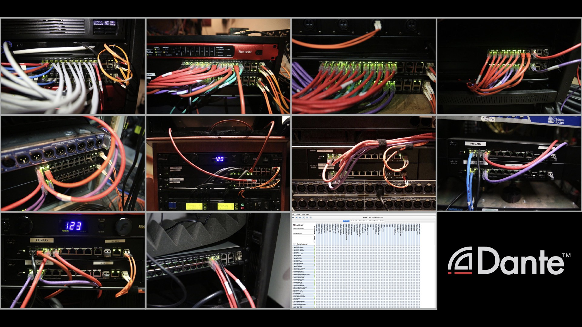 Recording With Networked Audio Blair Liikala Medium Yamaha M7 Wiring Network Switches