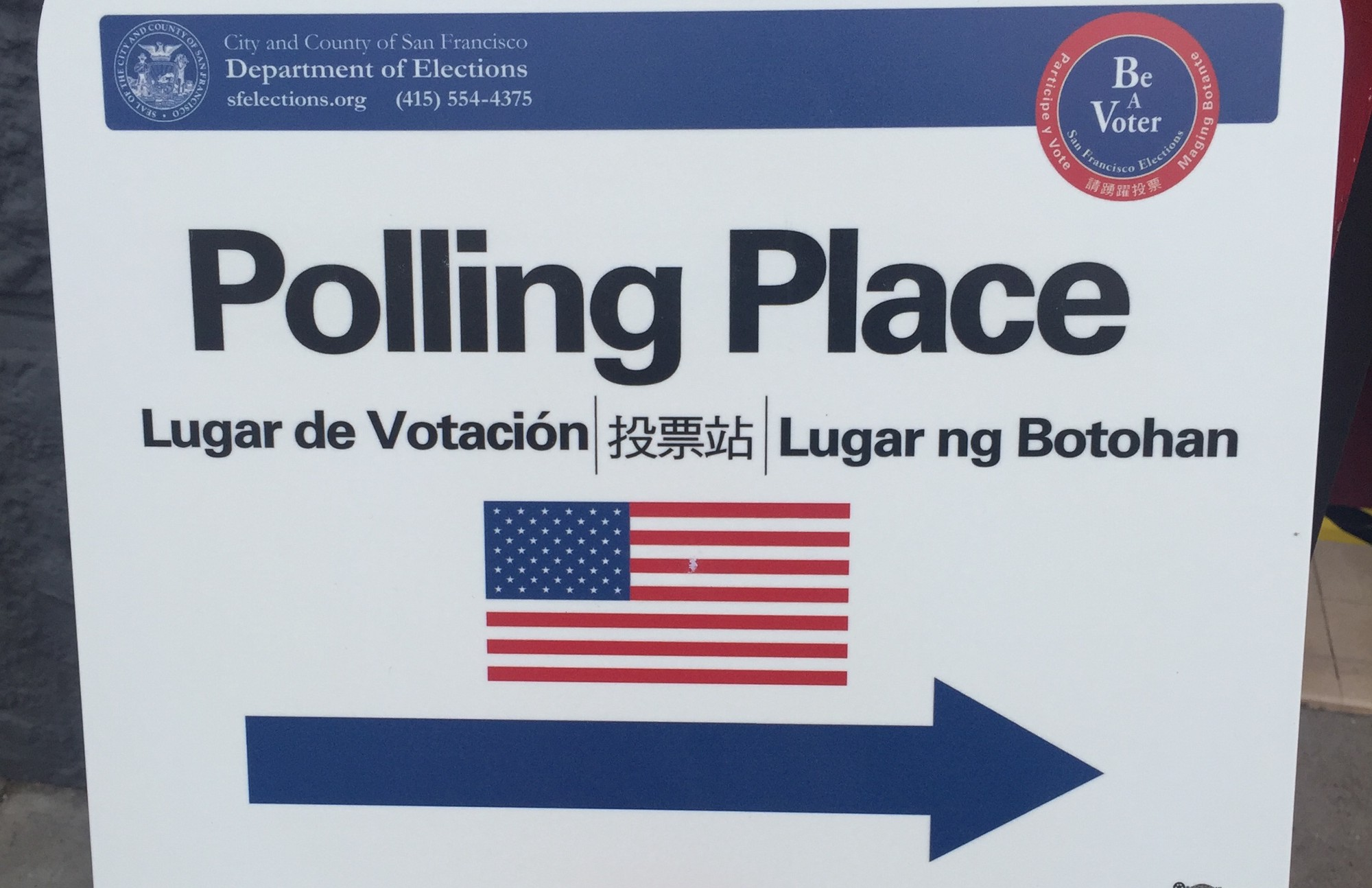 Image result for polling place san francisco