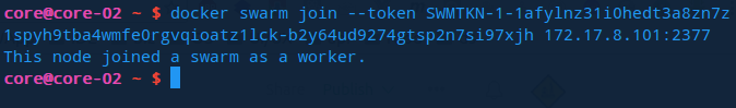 Attaching a worker node to the cluster
