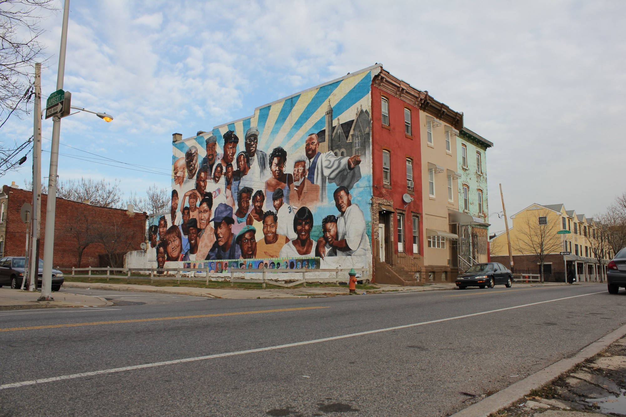 Sites of civil rights struggle in the city of philadelphia for City of philadelphia mural arts program