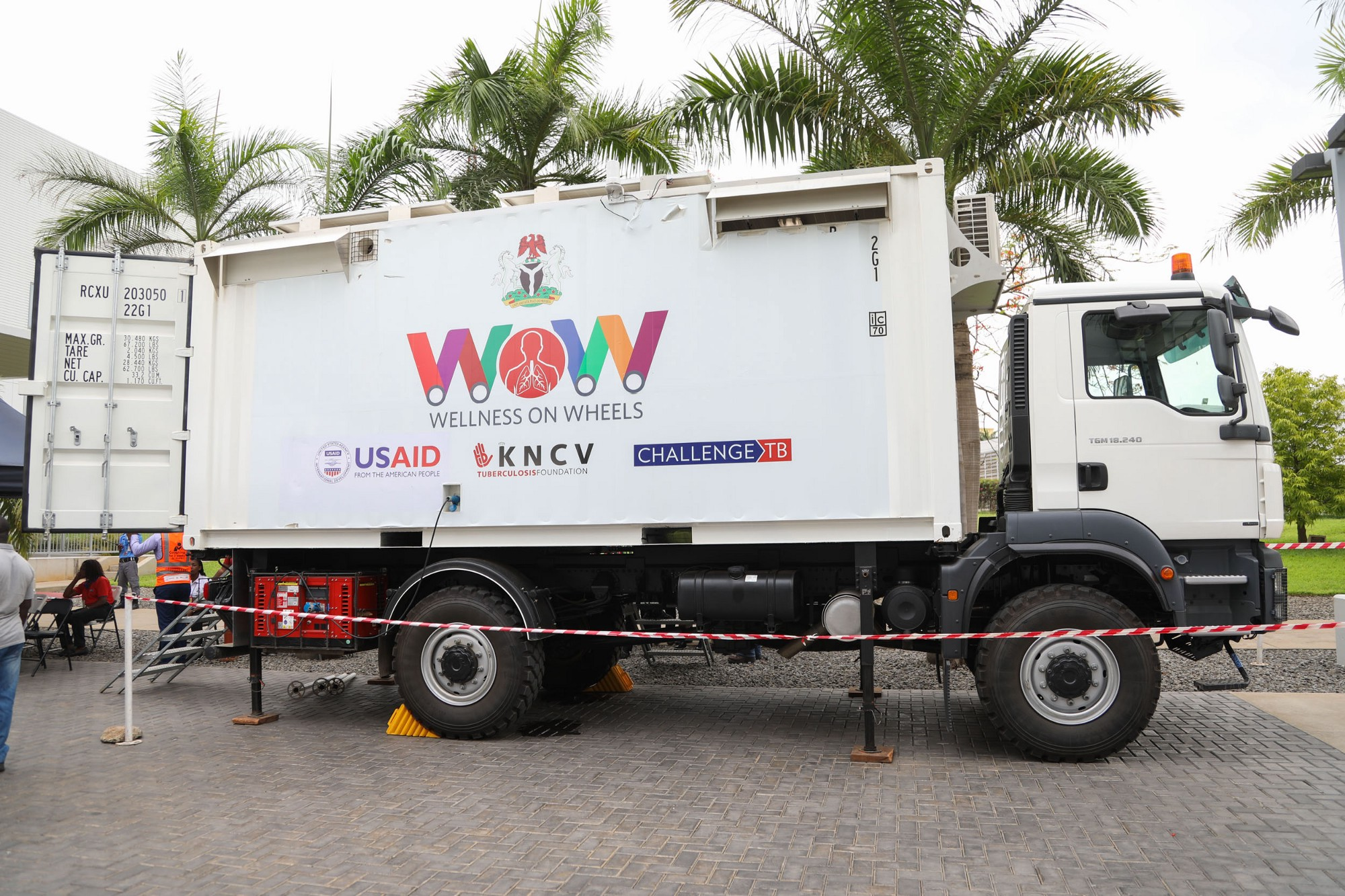 "USAID-Funded ""Wellness on Wheels"" Trucks Provides Mobile \'One Stop ..."