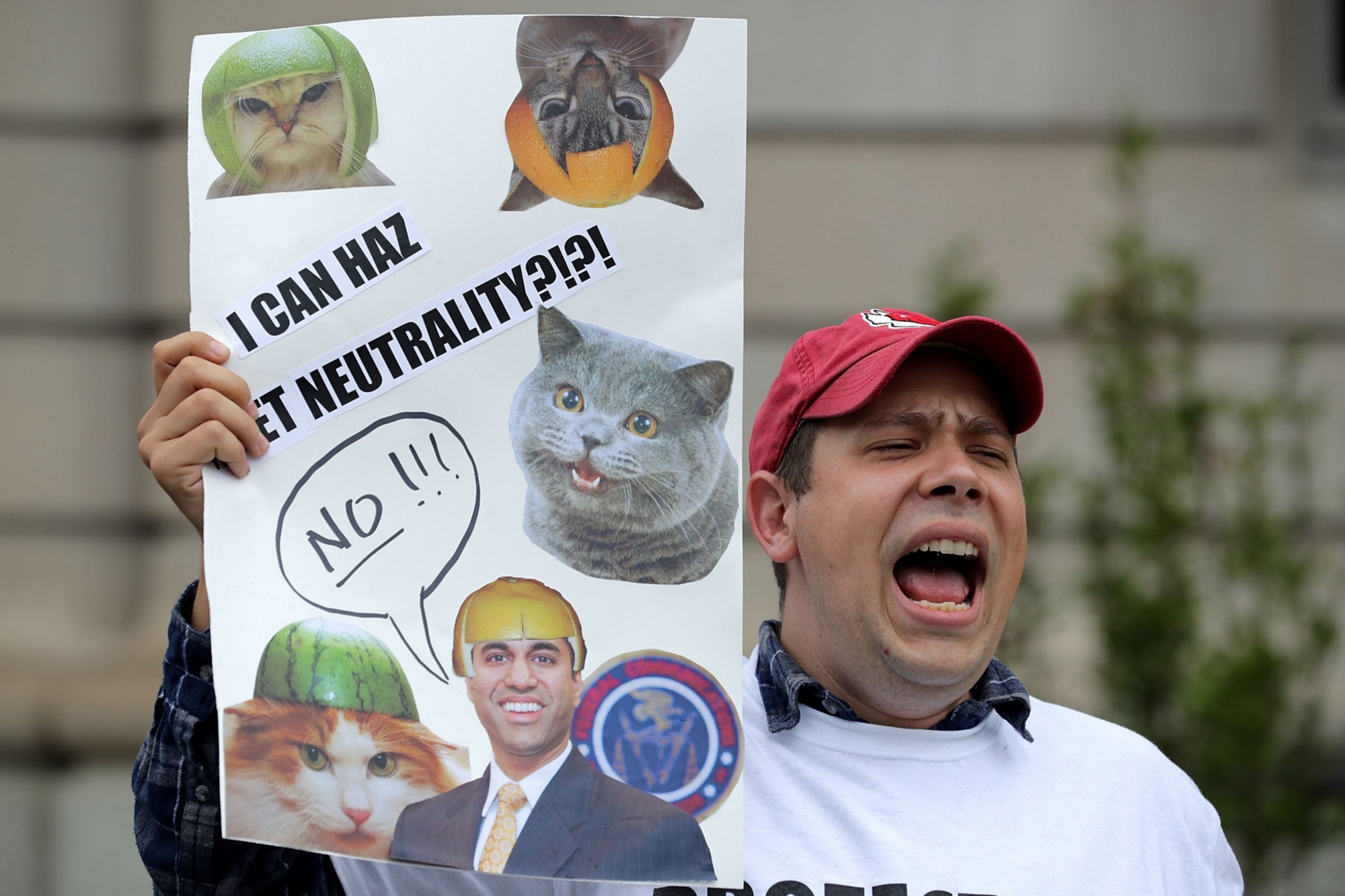 USA tech companies protest net neutrality ruling