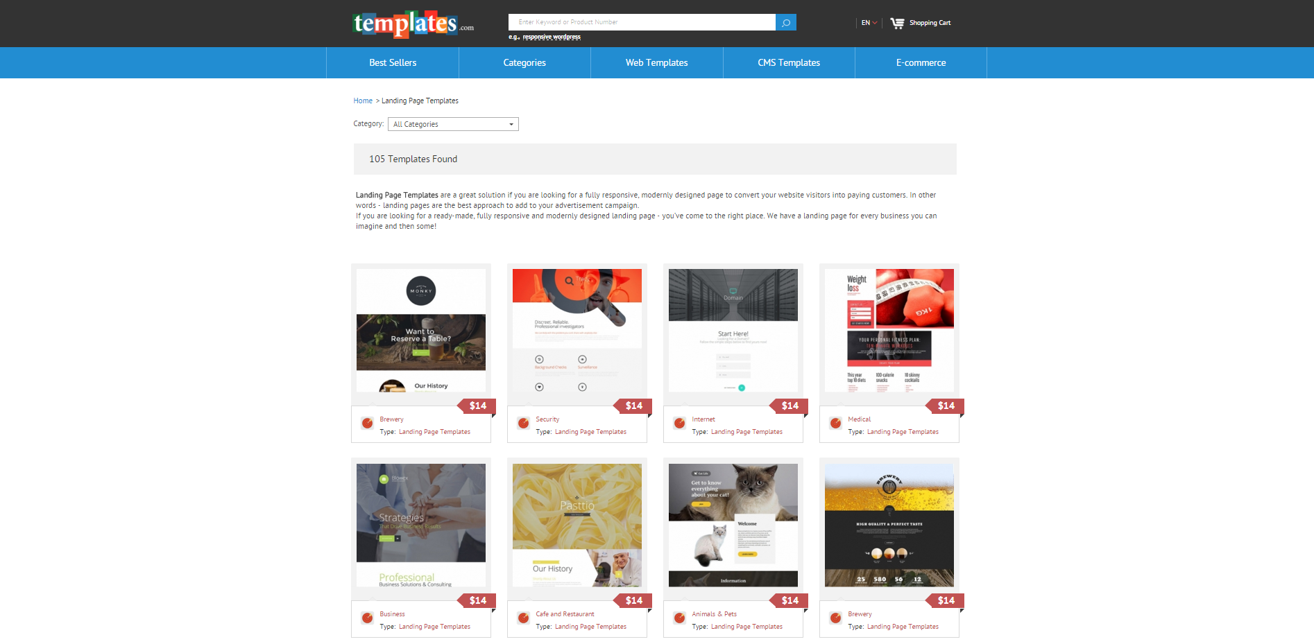 One Page Templates for Designers – Prototypr