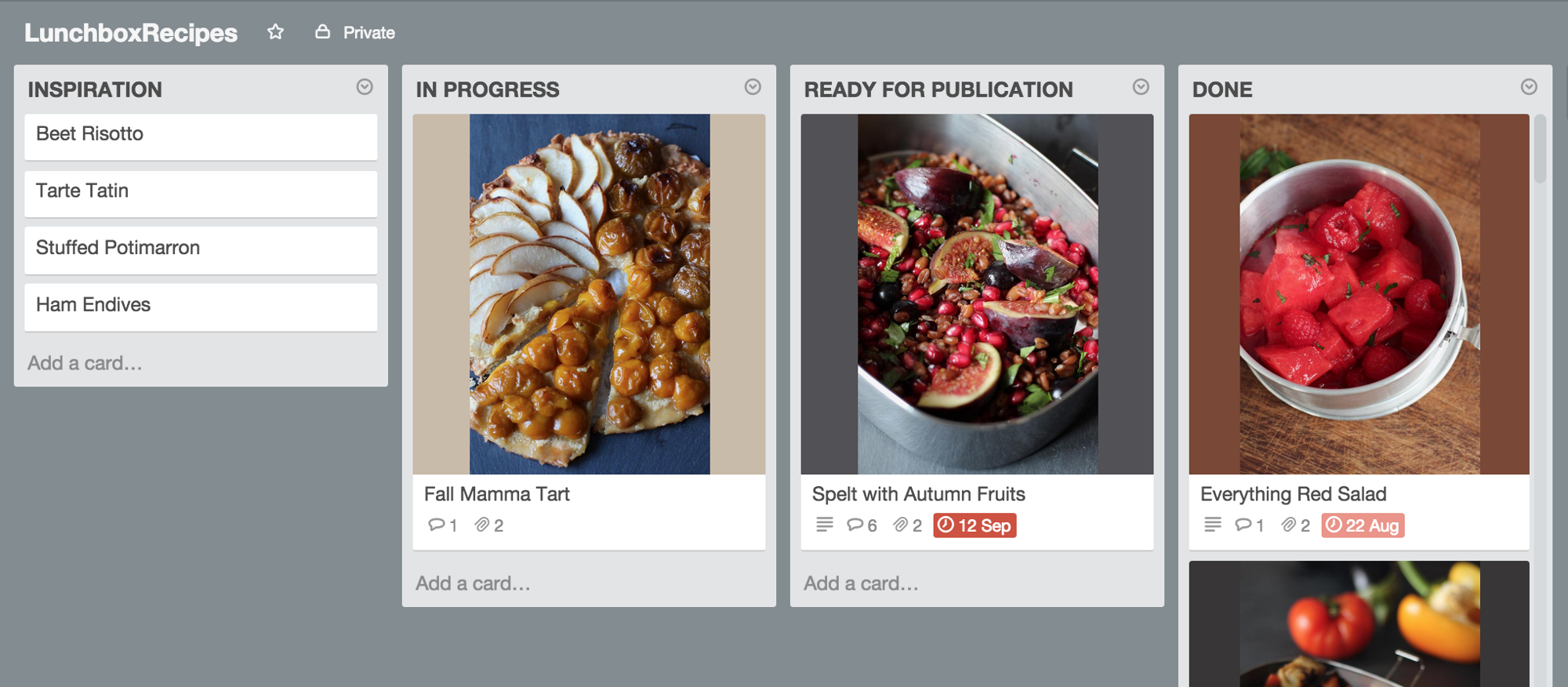 The recipe for an app powered by a trello board solne matre technically we use the trello api to turn a card into a json file we use the dropbox api to store each json file into the right folder forumfinder Images