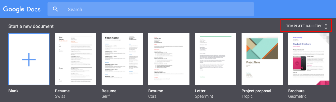 Google Drive\'s Public Templates Are Going Away — So Get Them While ...