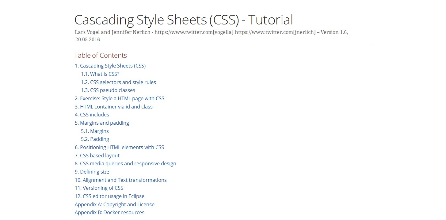 table design css. Cascading Style Sheets (CSS) Tutorial \u2014 Learn The Usage Of CSS, Defining Font Size, Margins And Padding. Identify HTML Elements Via Id Class Table Design Css