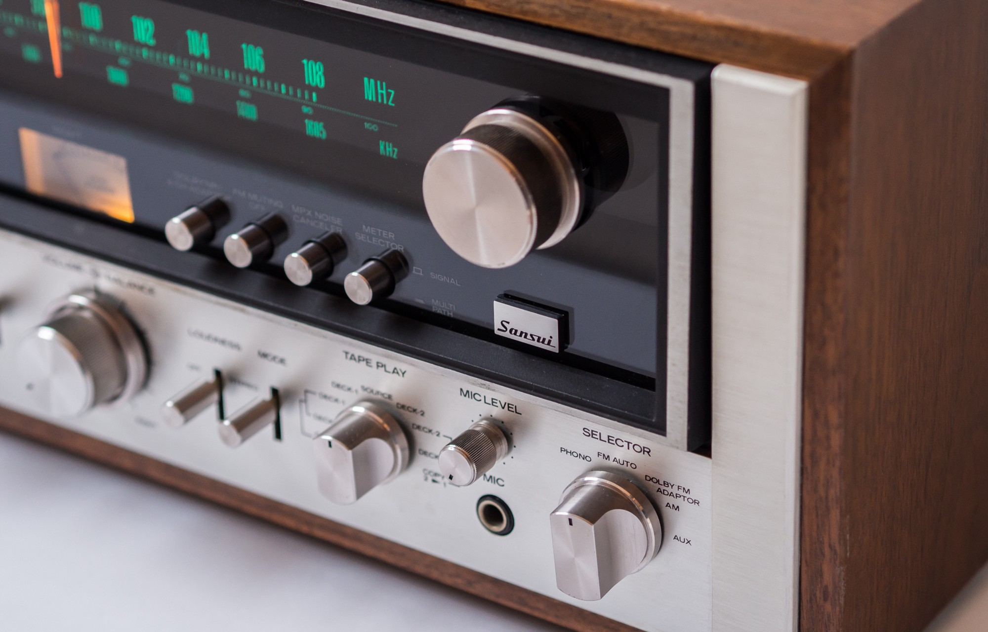 How A Digital Guy Fell In Love With Vintage Stereo Receiver Higain Speaker Listening Amplifier Circuit Kit Aa5