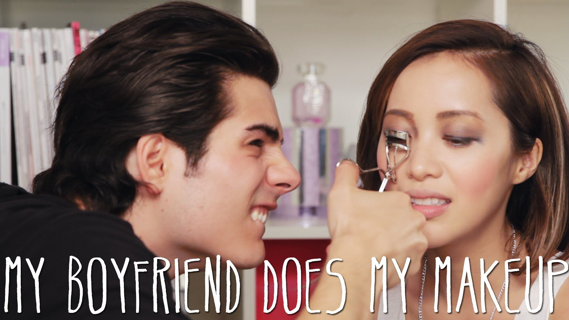 Youtube Trends Boyfriend Does My Makeup Tag