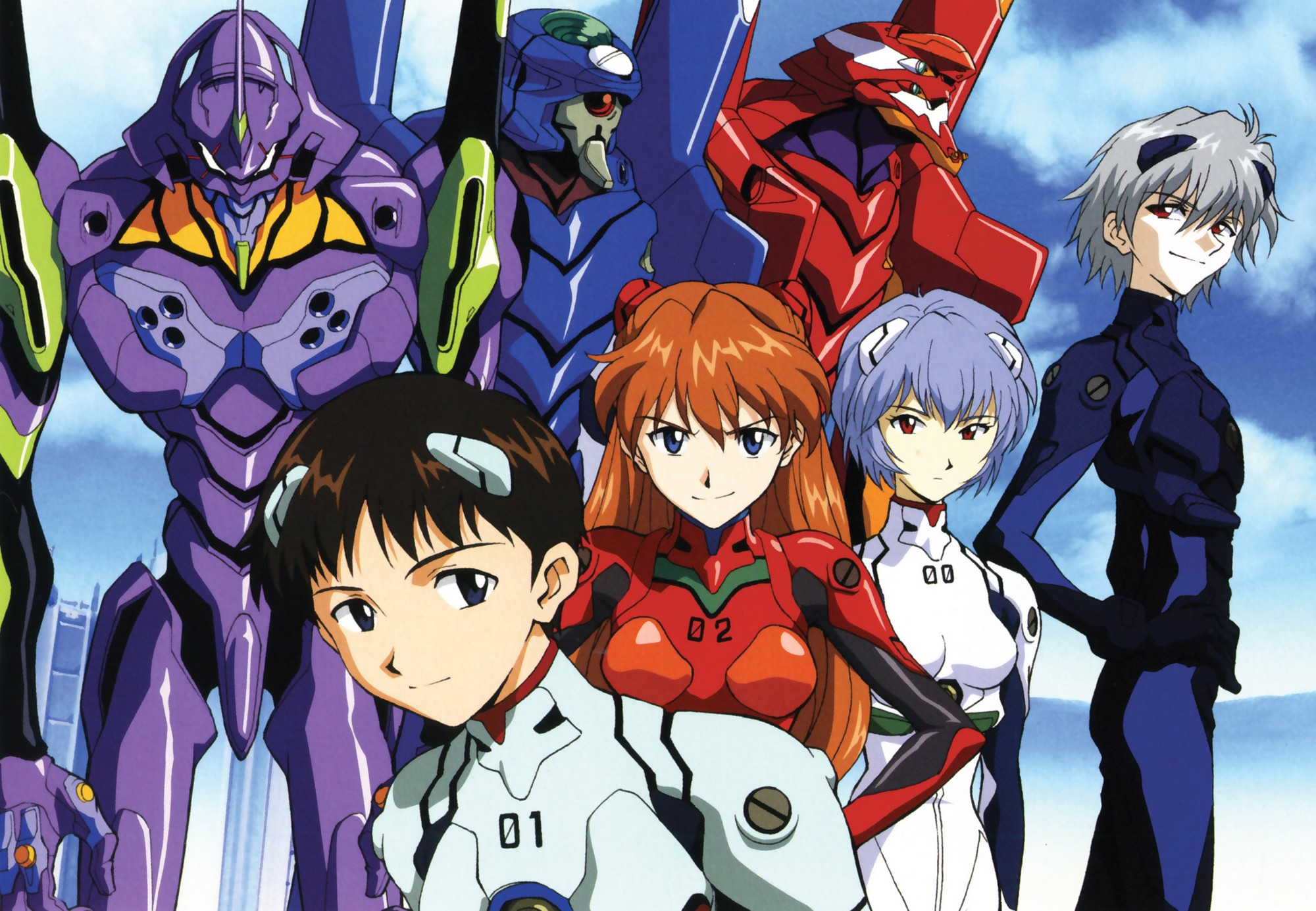 "Evangelion - ""Cruel Angel's Thesis"" (FULL Opening"