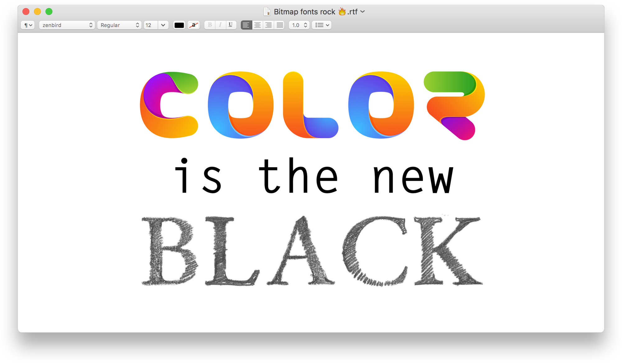 Color fonts what when where learn a thing or two about making color fonts what when where ccuart Gallery