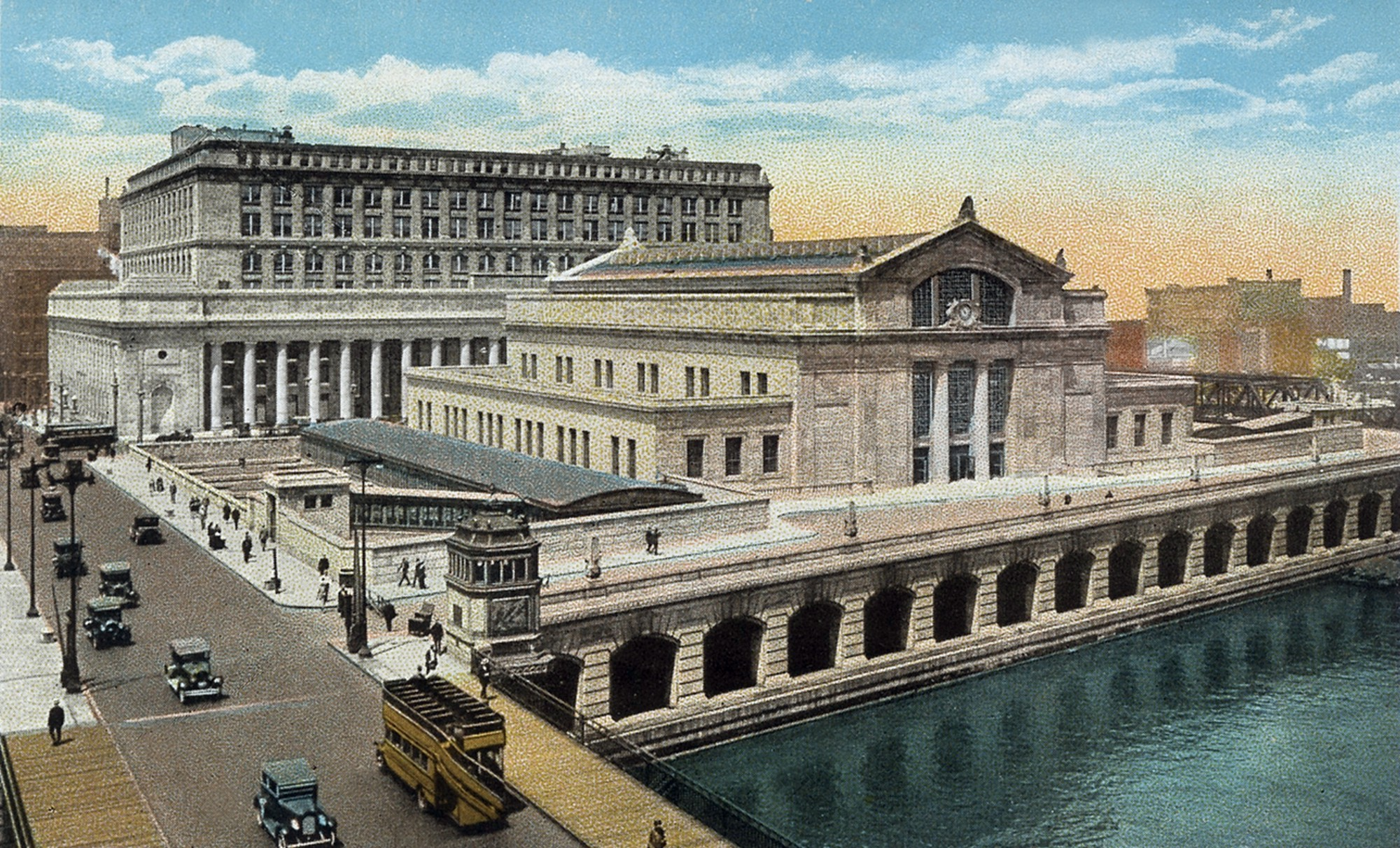 Union Station Chicago circa 1927 Dinner With