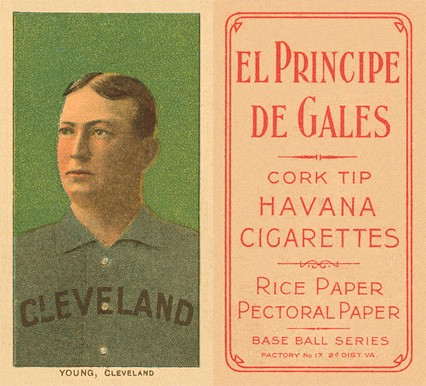 1909 White Borders (EPDG) Cy Young #523. Source: Vintage Card Prices