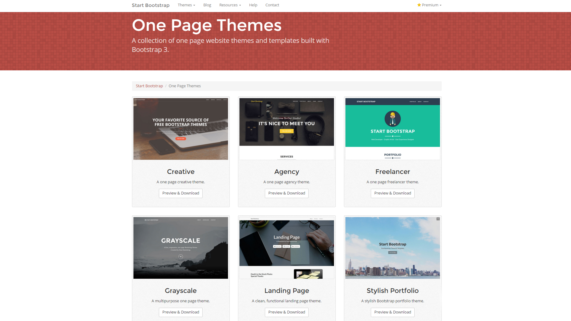 one page templates for designers prototypr
