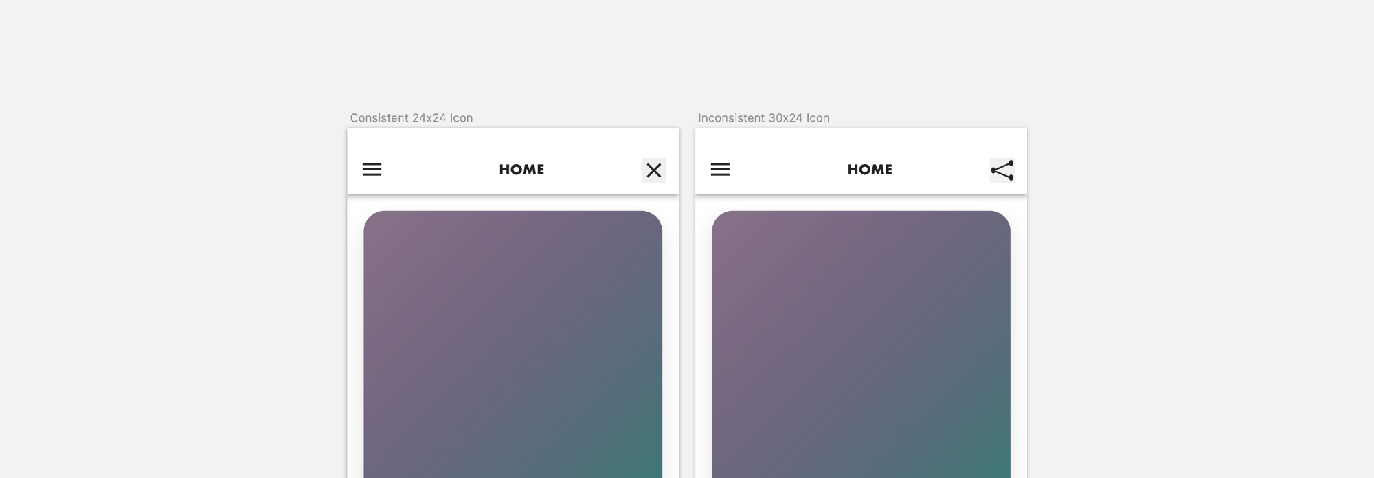How to save ui designers front end developers up to 50 of their time creating all your icons as a consistent size means a developer can replace them with one word of code the designer with a quick scroll down their list of buycottarizona Images