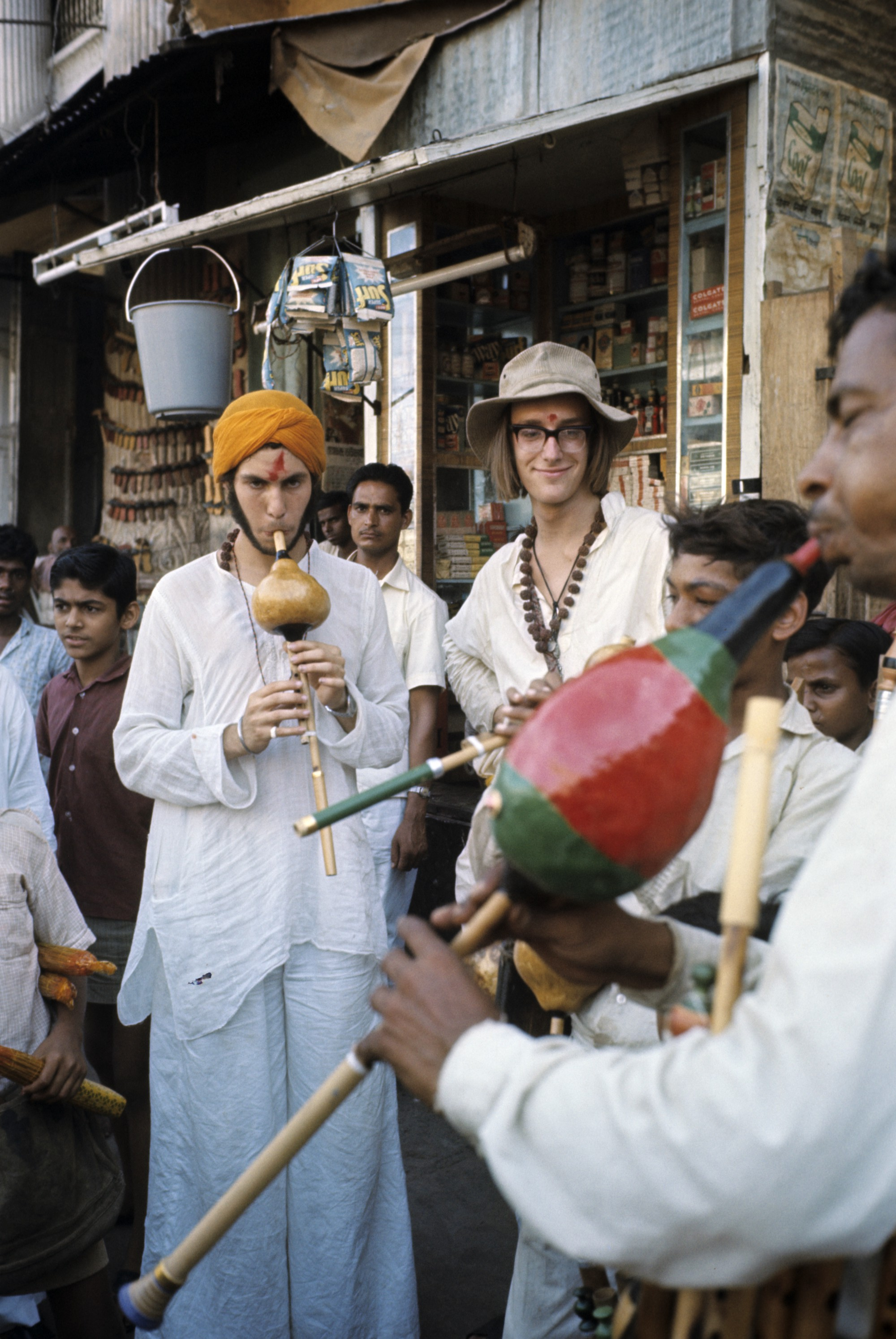 These absurd photos of young travelers on the 'Hippie Trail' raise a lot of questions