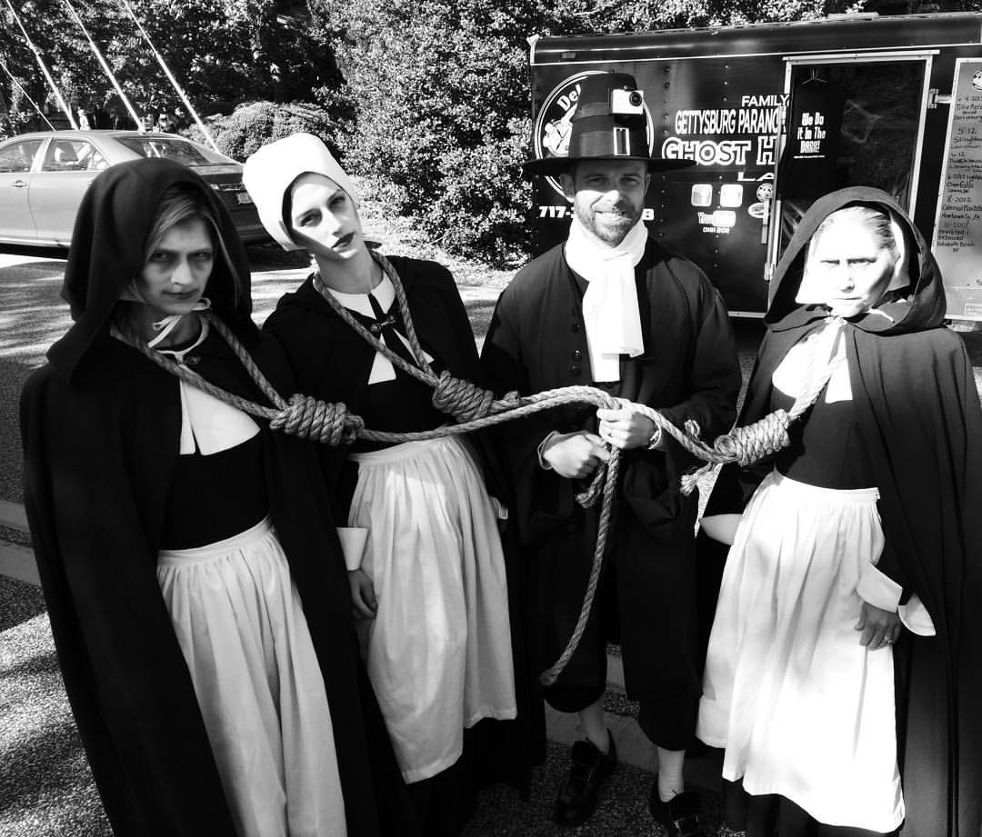 Salem Witches Execute Gallows Style At Sea Witch Parade