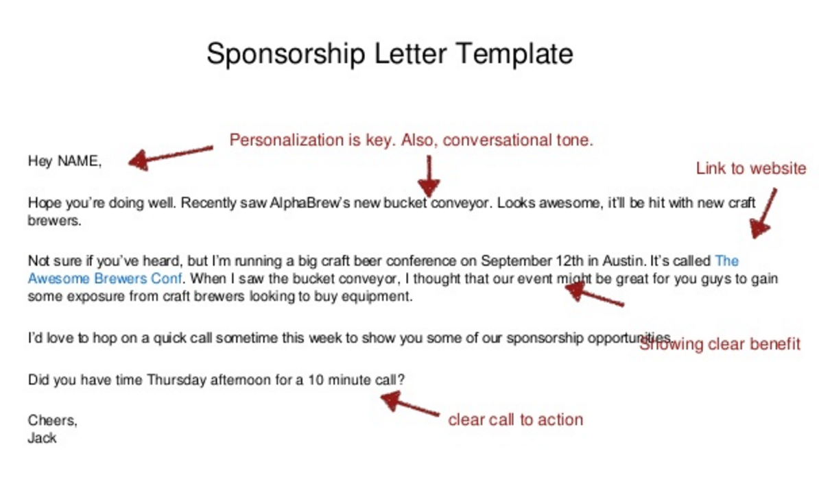 How to find sponsors for an event marketing and growth hacking altavistaventures Image collections