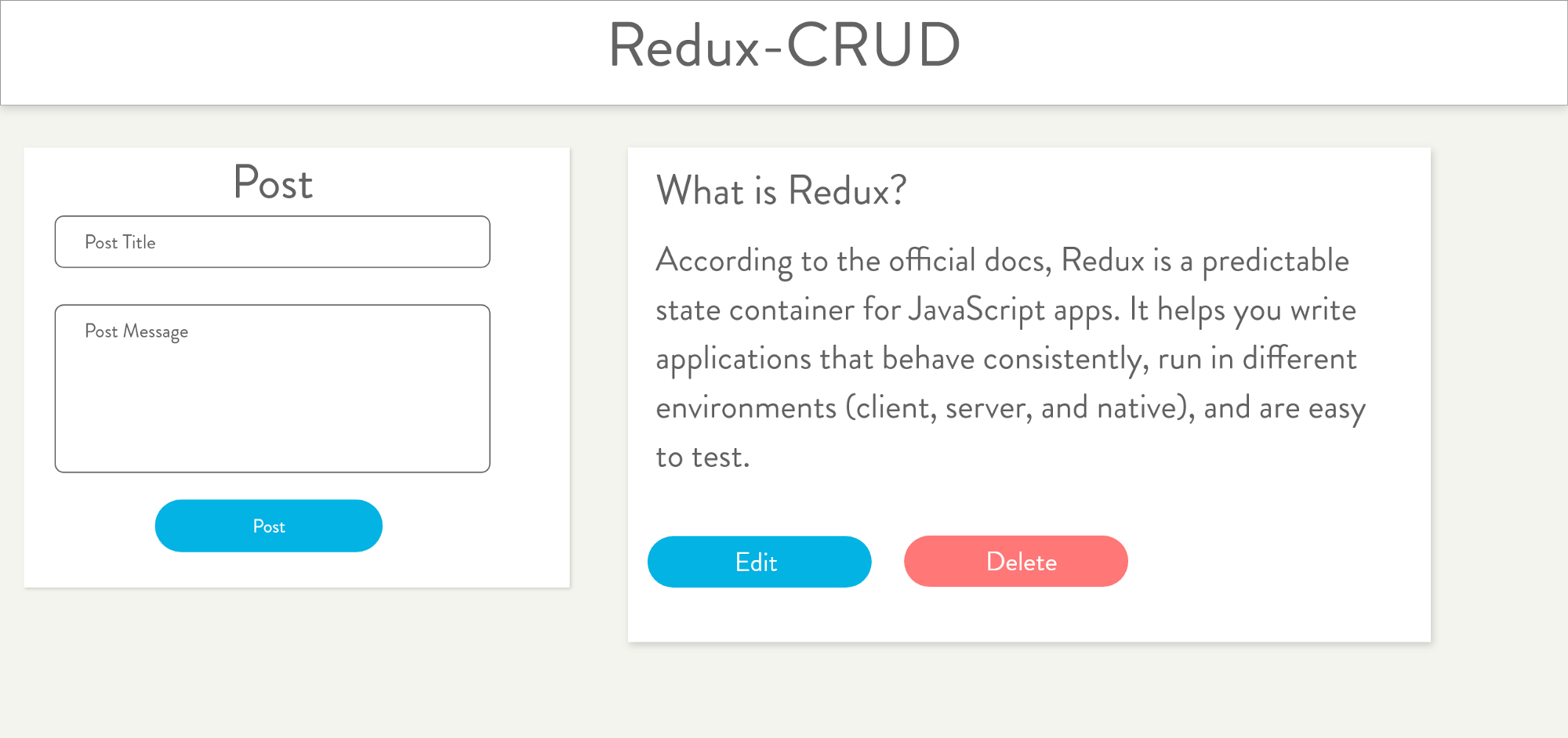 Redux A Crud Example Codeburst Updated Component Wiring Diagram Click On Components For Write Ups
