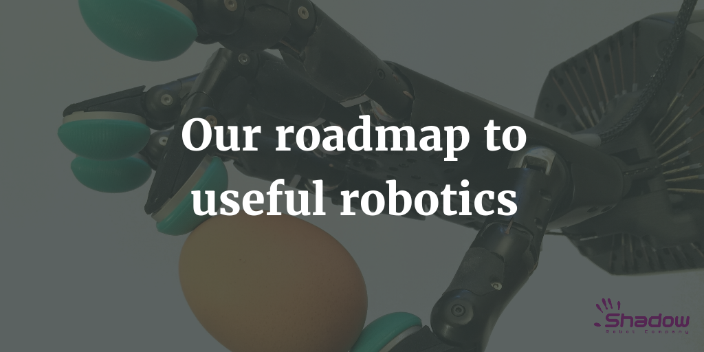 Our roadmap to useful robotics