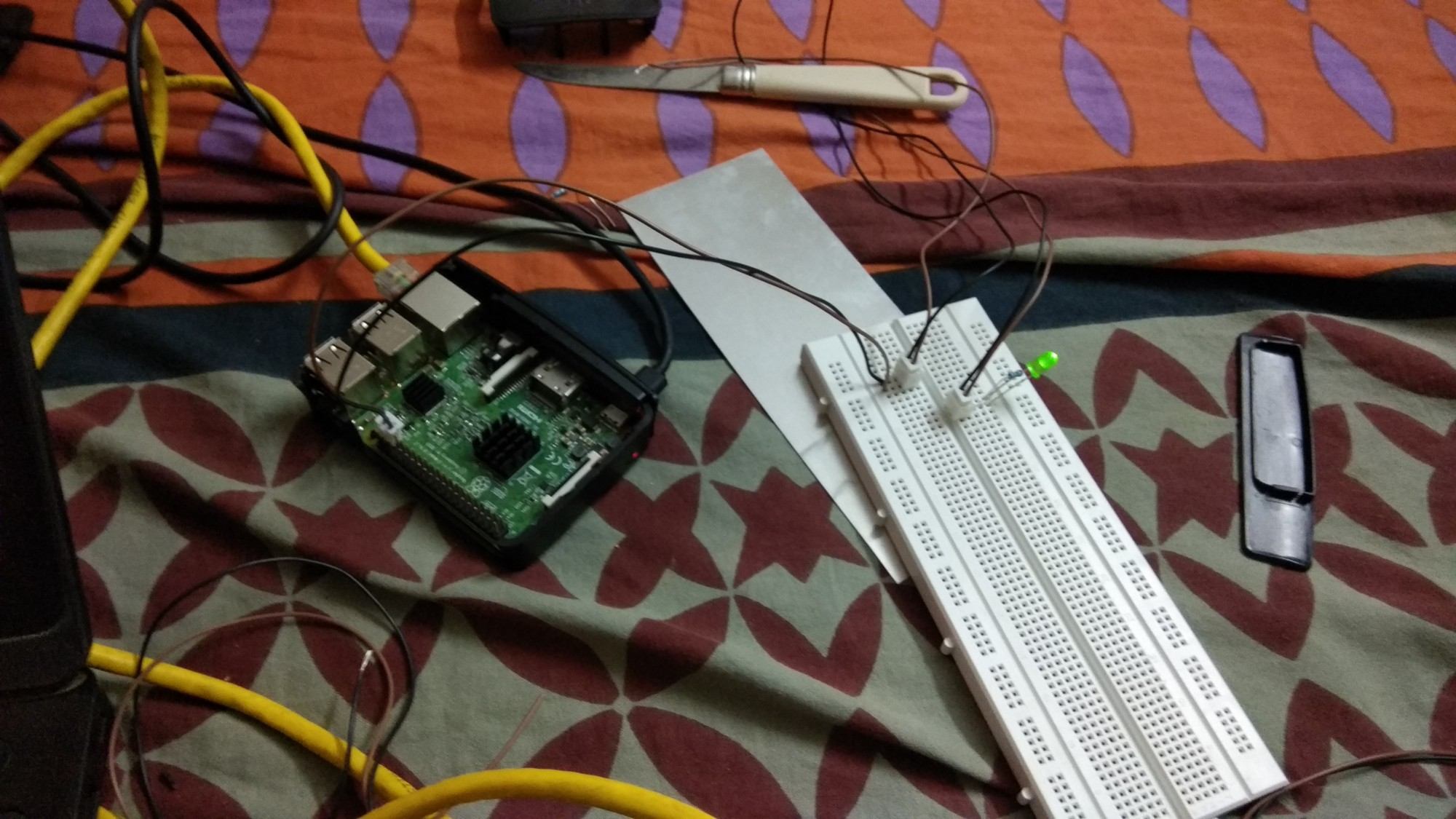 Remote Control Raspberrypi Leds From Web Browser Ui Led Light Circuit Diagram