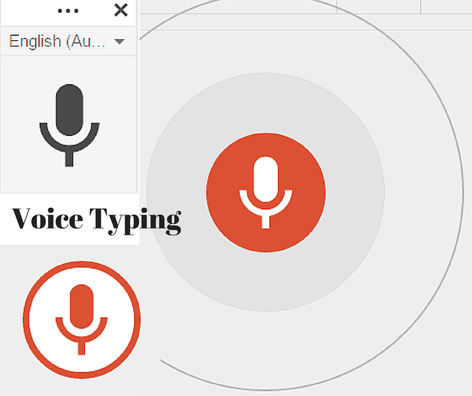 Voice Typing in Google Chrome