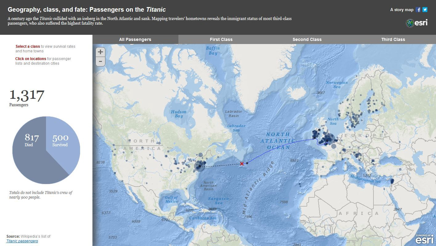 Seven maps that will change the way you look at history geography class and fate passengers on the titanic gumiabroncs Image collections