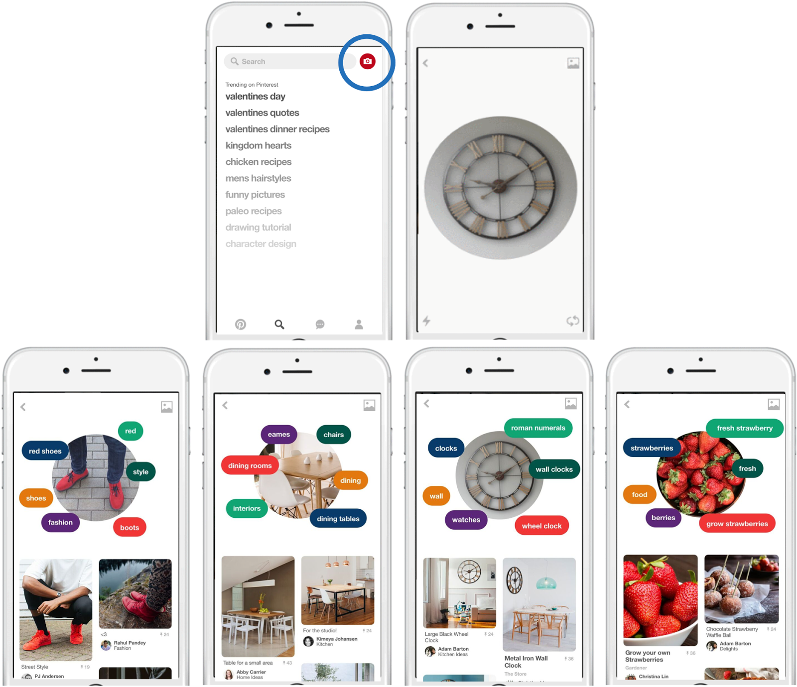 Pinterests Visual Lens How Computer Vision Explores Your Taste Pin Color Dots Desktop Wallpaper On Pinterest According To Ceo Ben Silbermann The Company Is Doing 3 Things With They Try Understand What Are Aesthetic Qualities Of